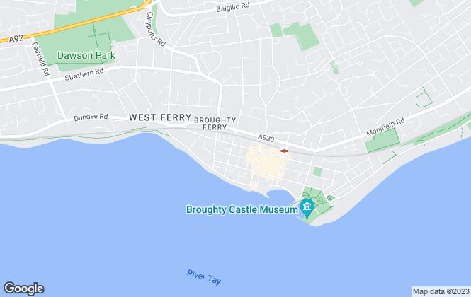 Map for Verdala, Dundee