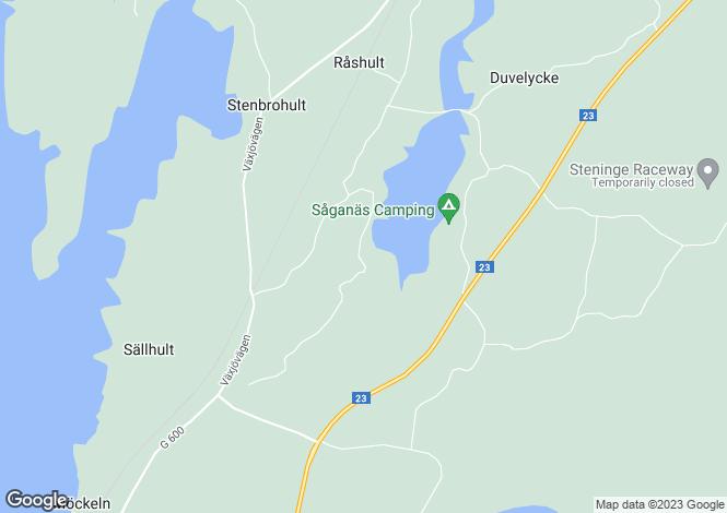 Map for Kronoberg, Diö