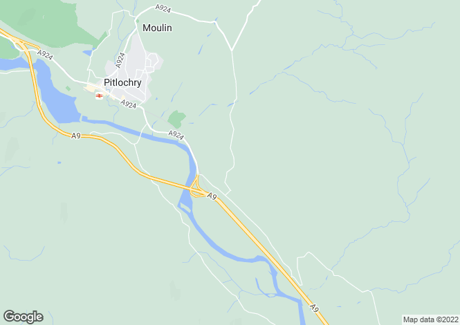 Map for Donavourd, Donavourd, PITLOCHRY, Perth and Kinross