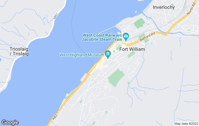 Map for MacArthur Stewart, Fort William