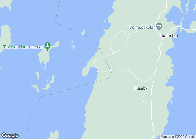 Map for Kronoberg, Bolmsö