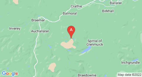map of Lochnagar (United Kingdom)