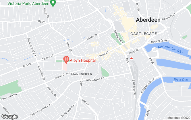 Map for AM-PM Leasing, Aberdeen