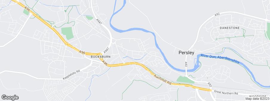 Map for Barratt Homes - North Scotland
