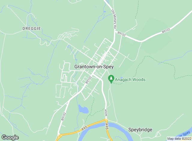 Map for Masson Cairns, Grantown on Spey