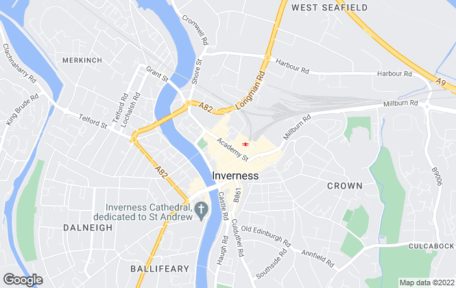 Map for Your Move , Inverness