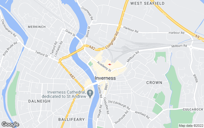 Map for YOUR MOVE, Inverness