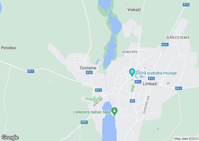 Map for Skulte, Riga Region