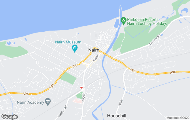 Map for Donaldson & Henderson Solicitors & Estate Agents , Nairn