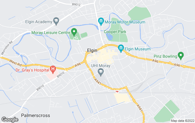 Map for Belvoir Sales, Elgin