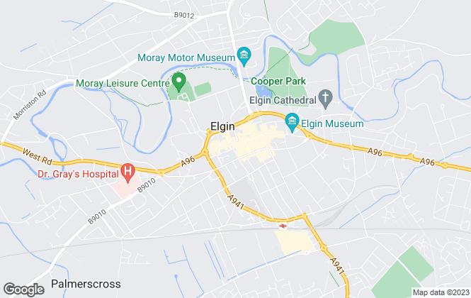 Map for Belvoir, Elgin