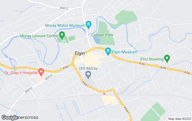 Map for CKD Galbraith, Elgin
