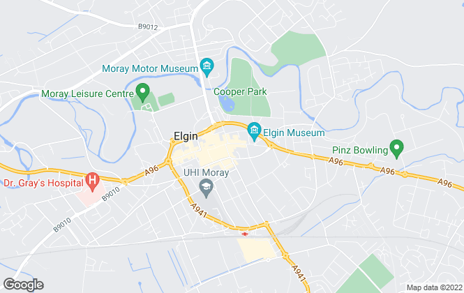 Map for Grampian Property Centre, Elgin