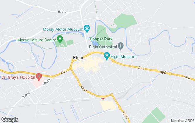 Map for CCL Property, Elgin