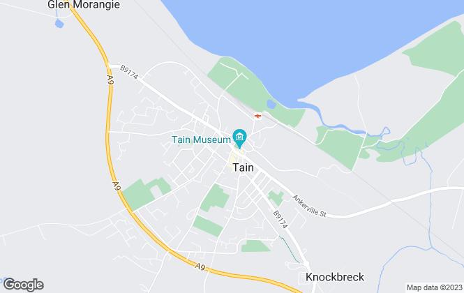 Map for MacKenzie & Cormack, Tain