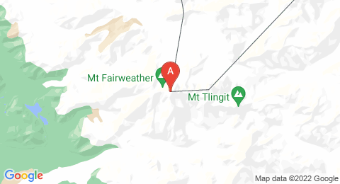 map of Mount Fairweather (United States of America)