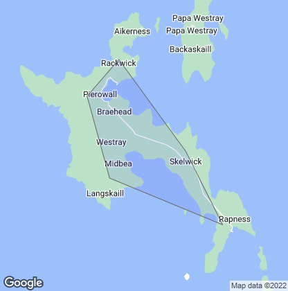 Map of property in Westray