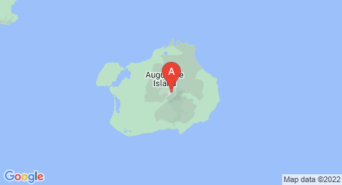 map of Augustine Volcano (United States of America)