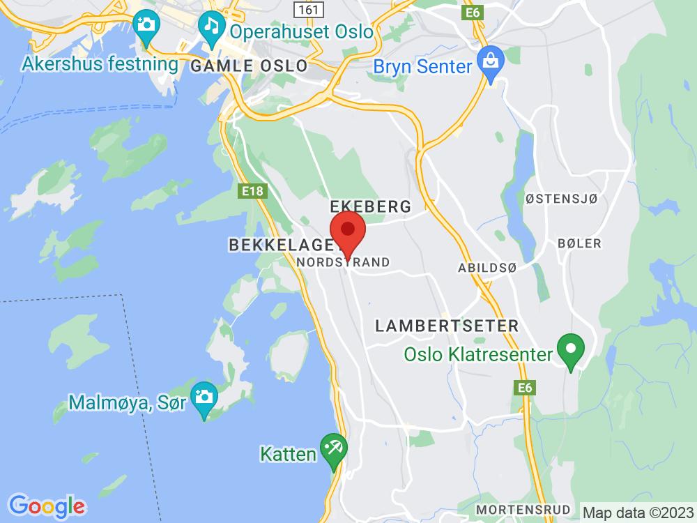 Kart til Holtet
