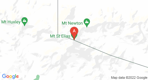 map of Mount Saint Elias (United States of America)