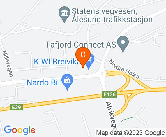 Triangel Ålesund kart