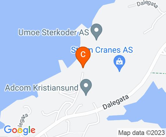Triangel Kristiansund kart