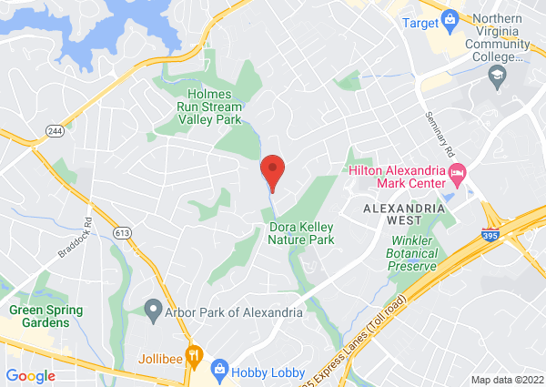 Map of 6300 Holmes Run Parkway, Alexandria, VA 22311, United States