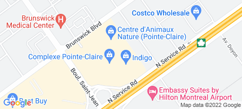 location on map of Subway (St Jean)