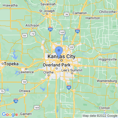 Map of truck driving jobs in Kansas City, Kansas