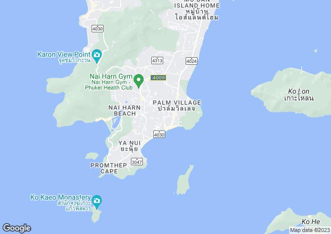 Map for Rawai, Phuket