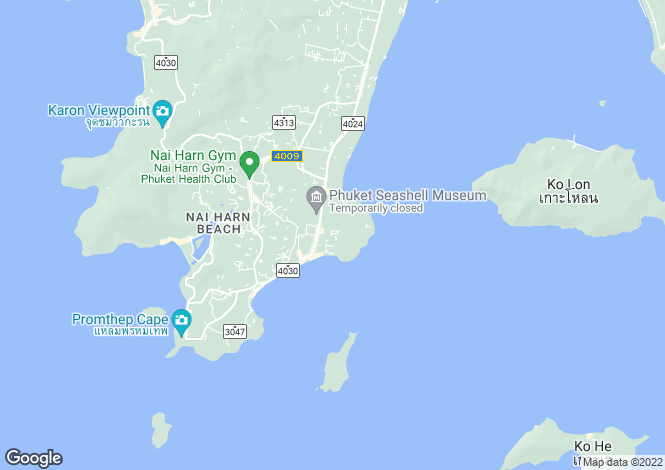 Map for Rawai, Phuket