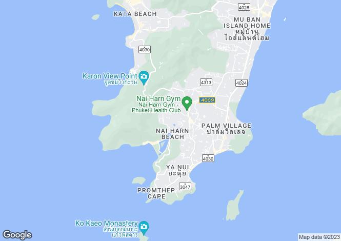 Map for Nai Harn, Phuket, Thailand