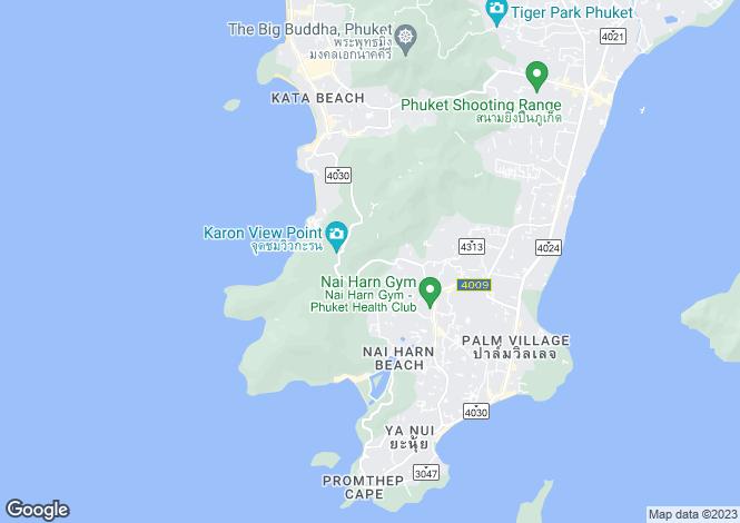 Map for Naiharn, Phuket