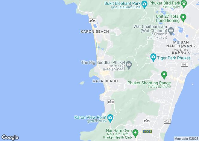 Map for Kata, Phuket
