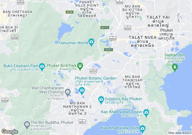 Map for Chalong, Phuket