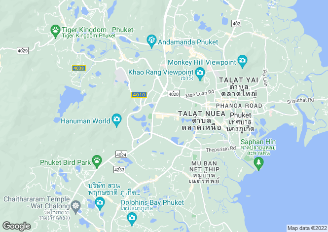 Map for Kathu, Phuket