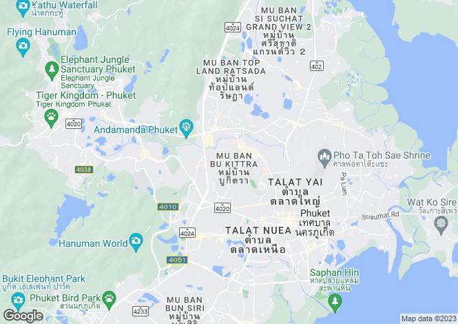 Map for Phuket