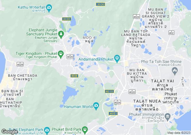 Map for Kathu, Phuket, Thailand