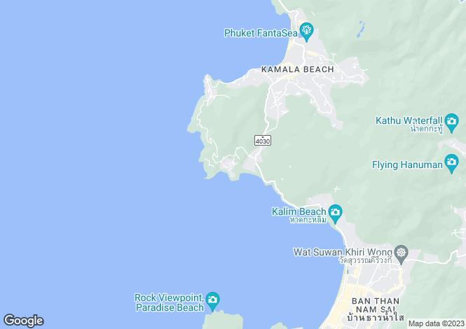 Map for Pa Tong, Phuket