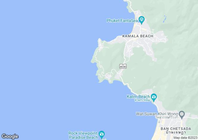 Map for Kamala, Phuket