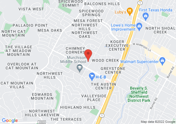 Map of 7300 Hart Lane, Austin, TX