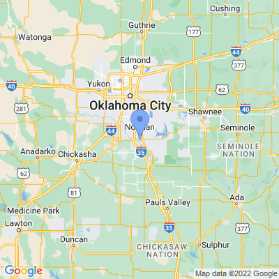 Map of truck driving jobs in Norman, Oklahoma