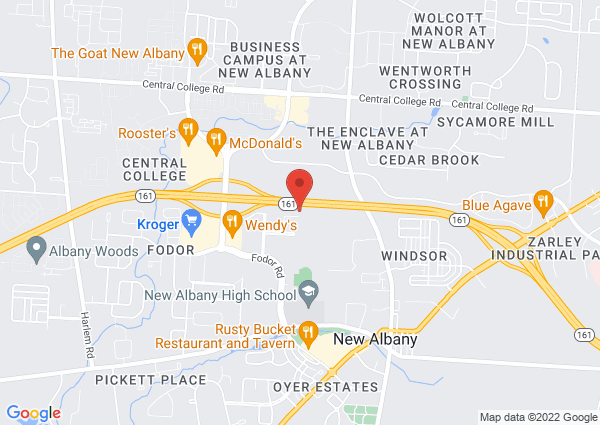Map of 7650 Swickard Woods Blvd, New Albany, OH 43054, United States