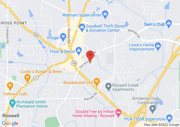 Map of 795 Old Roswell Rd, Roswell, GA 30076, USA