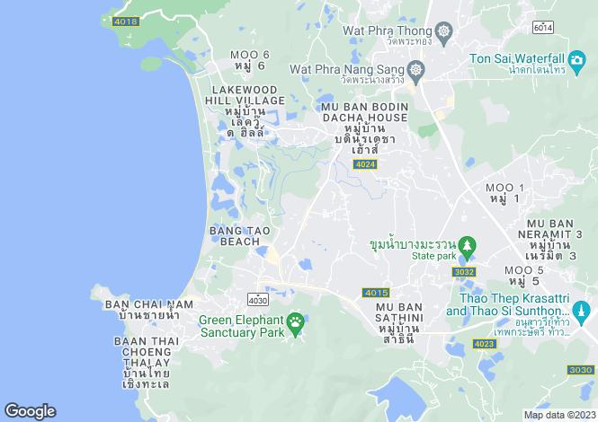 Map for Layan, Phuket