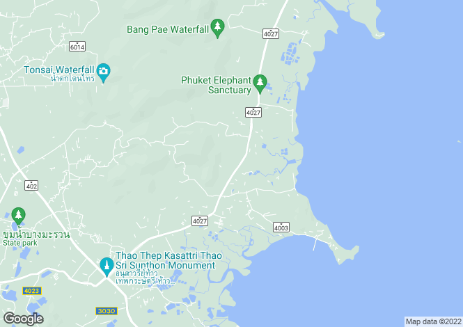 Map for Koh Kaew, Phuket