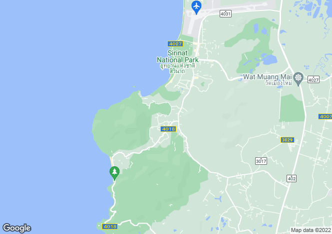 Map for Mai Khao, Phuket