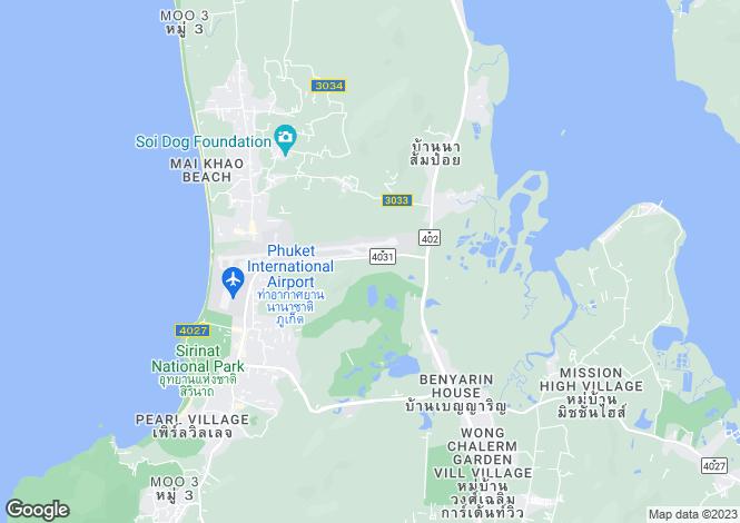 Map for Mai Khao, Phuket