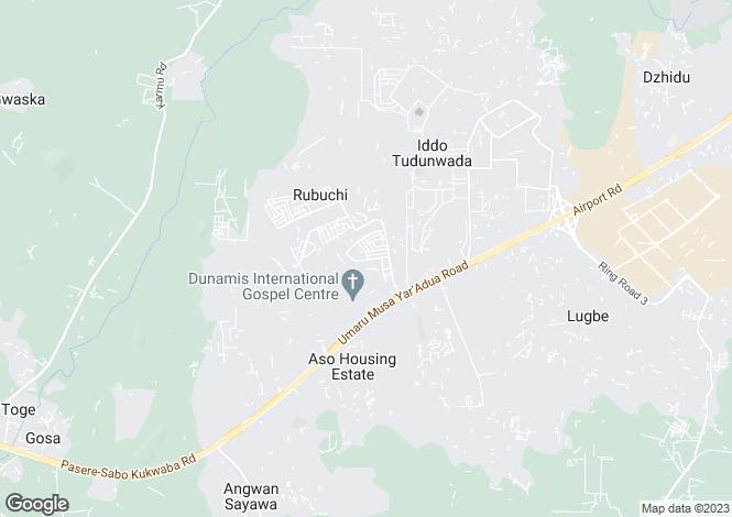Map for Federal Capital Territory, Abuja
