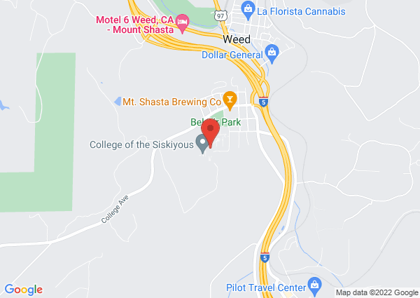 Map of 800 College Ave, Weed, CA 96094